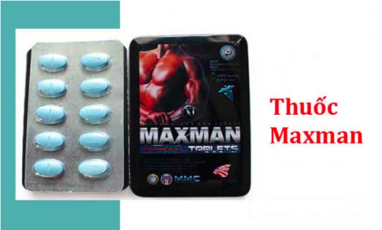 Thuốc Maxman có tốt không? Giá bao nhiêu? Mua ở đâu?