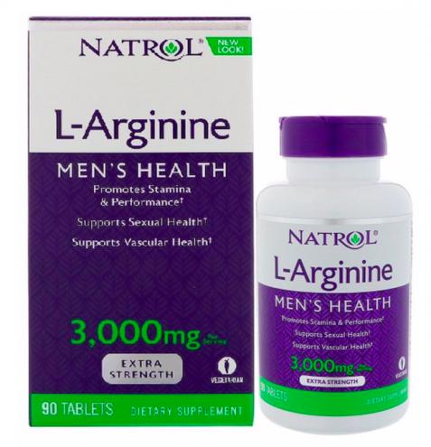 Viên uống Natrol L-Arginine có tốt không?