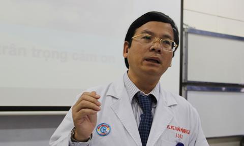 PGS. TS. Bác sĩ Thái Minh Sâm - Trưởng khoa tiết niệu Bệnh viện Chợ Rẫy