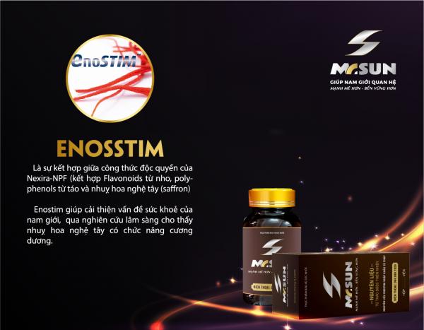EnoSTIM™- giải pháp vàng chữa rối loạn cương dương cho nam giới