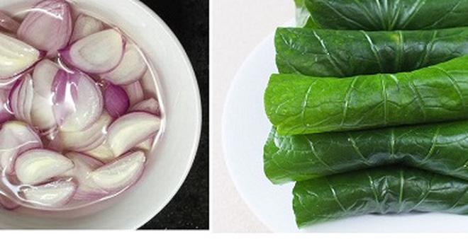 Lá lốt cuốn hành tím là món ăn giúp tăng cường khả năng sinh lý cho nam giới