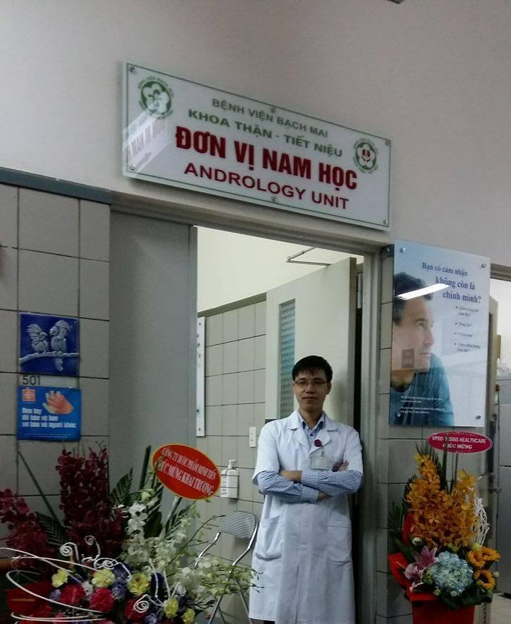 Đơn vị Nam học - Bệnh viện Bạch Mai