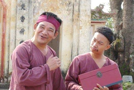 Diễn viên Quang Tèo với vai diễn đặc trưng là anh nông dân quê mùa, chân chất