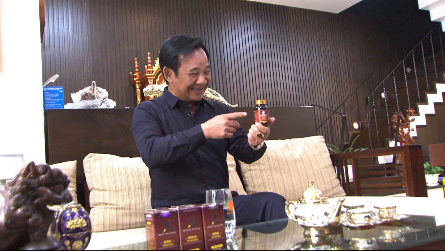 Quang Tèo tiết lộ bí quyết duy trì sức khoẻ phong độ của anh chính là Viên uống Mr Sun
