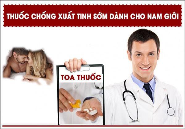 Xuất tinh sớm uống thuốc nào tốt?