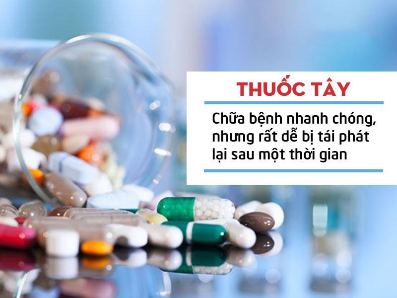 Thuốc tây y chữa yếu sinh lý tiềm ẩn nhiều tác dụng phụ cho sức khoẻ của nam giới