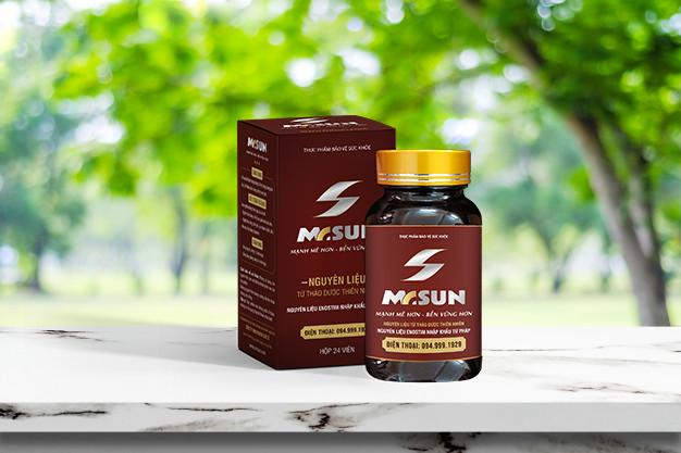 Viên uống Mr Sun với 100% thảo dược từ thiên nhiên