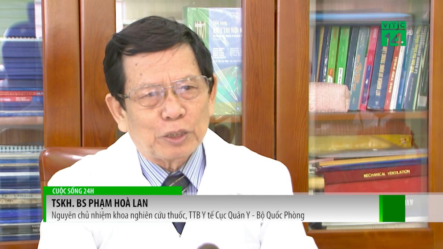 Đại tá, thầy thuốc ưu tú, Bác sĩ Phạm Hoà Lan trên sóng Truyền hình VTC14