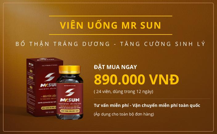 Mr Sun - Giúp quý ông tìm lại hạnh phúc chốn phòng the