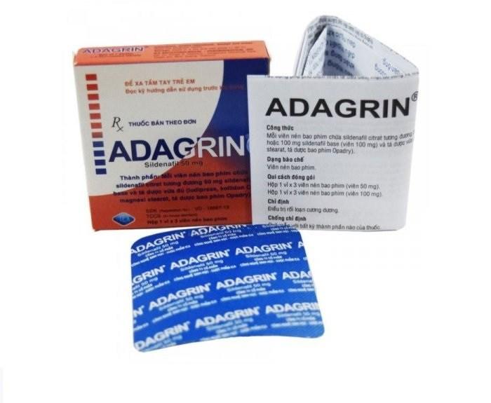 Hình ảnh thuốc Adagrin
