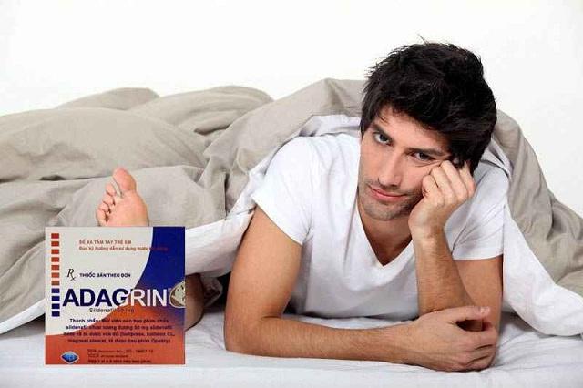 Thuốc điều trị rối loạn cương dương Adagrin