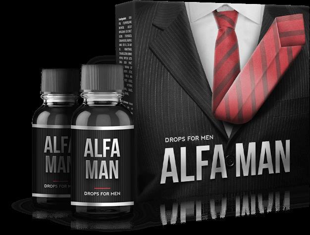 Alfa man - thần dược tăng cường sinh lực phái mạnh