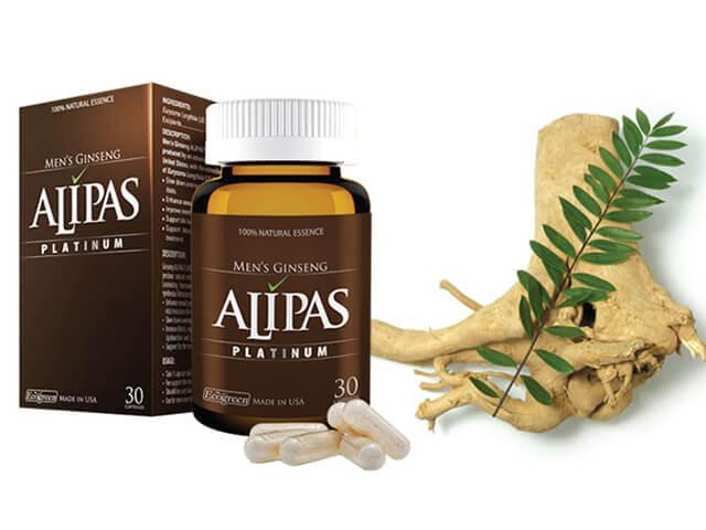 Viên uống Sâm Alipas được công ty St. Paul Brands của Mỹ sản xuất và được phân phối về Việt Nam bởi công ty CP Dược phẩm ECO