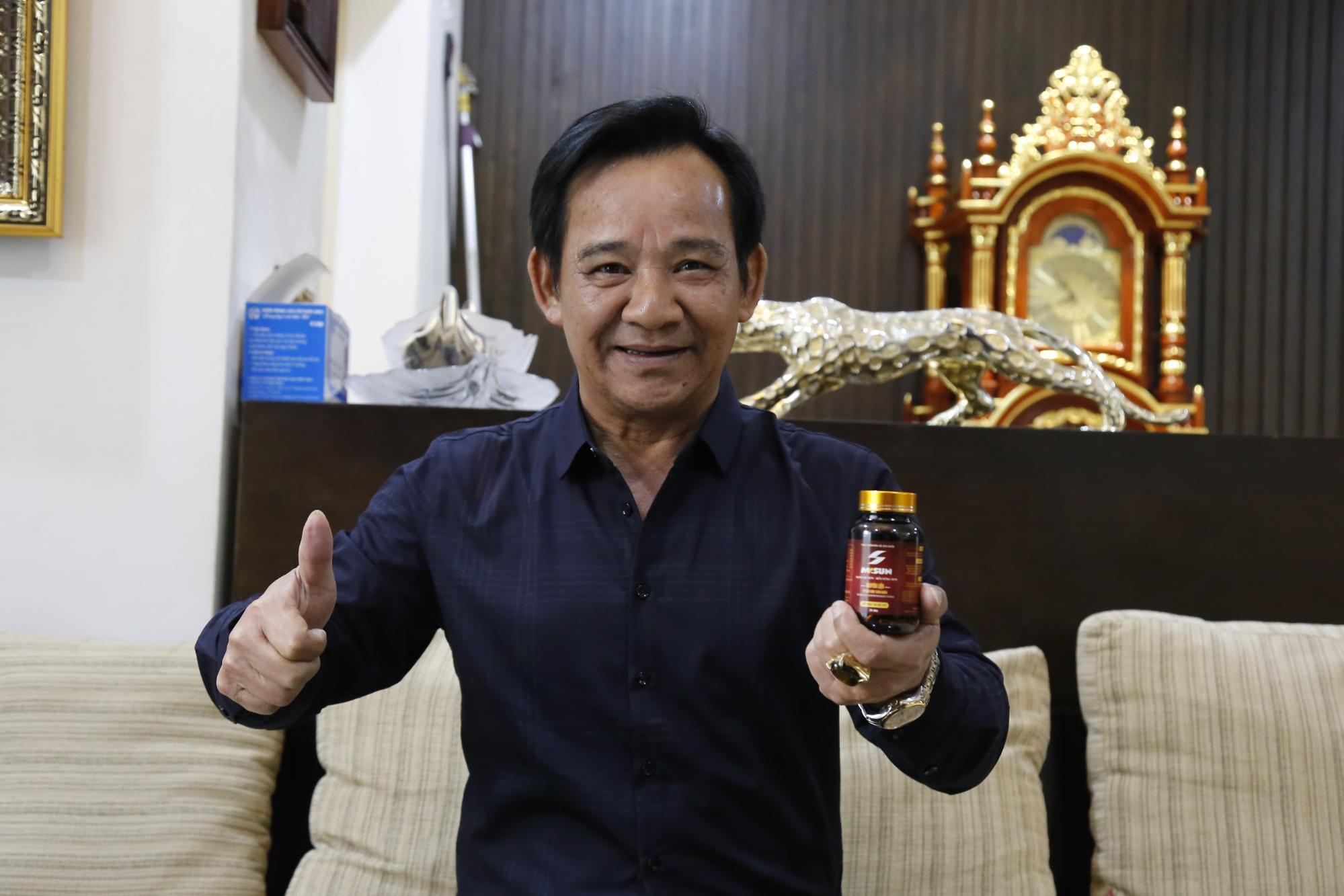Viên uống Mr Sun - Bí quyết giúp Diễn viên Quang Tèo luôn khoẻ mạnh, sung mãn