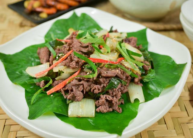 Thịt bò xào lá lốt là món ăn ngon, dễ làm, tốt cho sinh lý nam