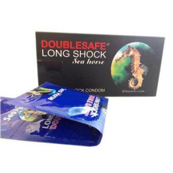 Bao cao su cá ngựa Doiblesafe Long sock seahorse