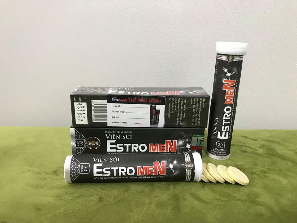Viên sủi Estromen được nhiều nam giới tin tưởng lựa chọn giúp kéo dài thời gian quan hệ