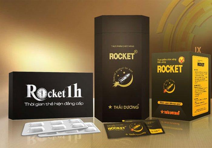Rocket 1h - thần dược cho phái mạnh