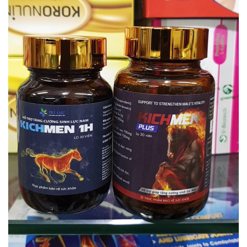 Kichmen và Kichmen Plus - bộ đôi hoàn hảo kéo dài thời gian cho nam giới