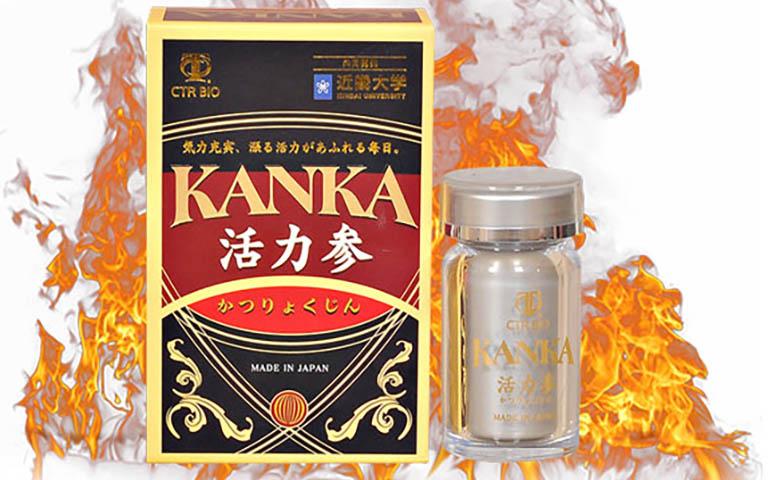 Bổ thận Kanka được nhiều nam giới tin dùng