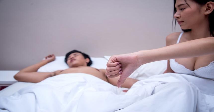 Xuất tinh sớm ảnh hưởng đến tâm lý và phong độ của phái mạnh trước bạn tình