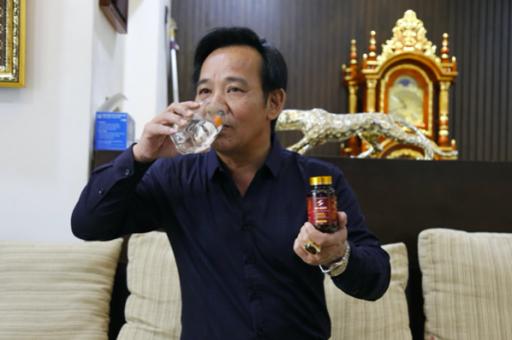 Mr Sun được nghệ sĩ Quang Tèo xem là vũ khí bí mật để duy trì sự sung mãn ở tuổi 60