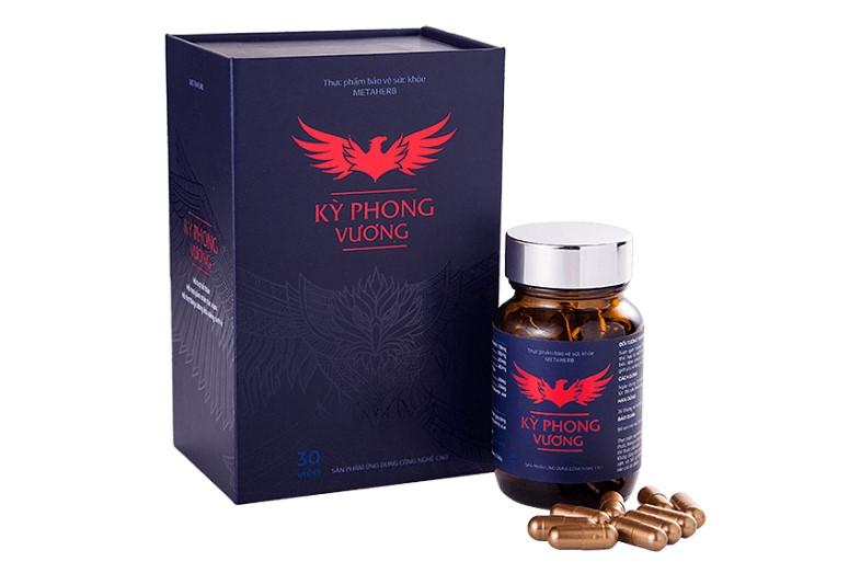 Kỳ Phong Vương là một loại thuốc cường dương được chiết xuất từ thảo dược đông y