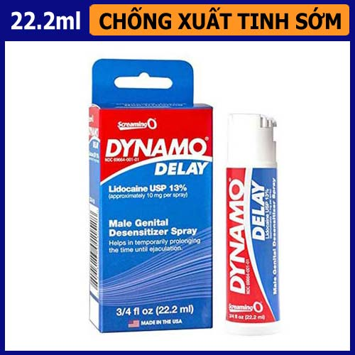 Dynamo Delay xịt tăng thời gian quan hệ từ USA giá 450.000 VND