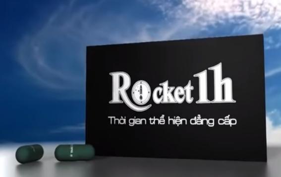 Rocket 1h - giải pháp tăng thời gian quan hệ cho nam giới giá 299.000 VND