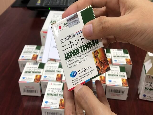 Japan Tengsu sự kết hợp hoàn hảo giữa thuốc bổ thận và thuốc cường dương 650.000 VND