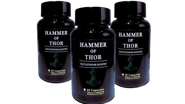 Hammer of Thor - thuốc bổ thận tráng dương giúp bạn mạnh như thần sấm Thor