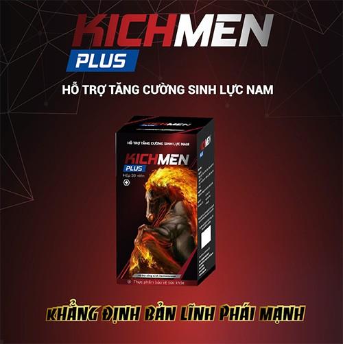 Kichmen Plus - Thuốc kéo dài thời gian quan hệ cho nam