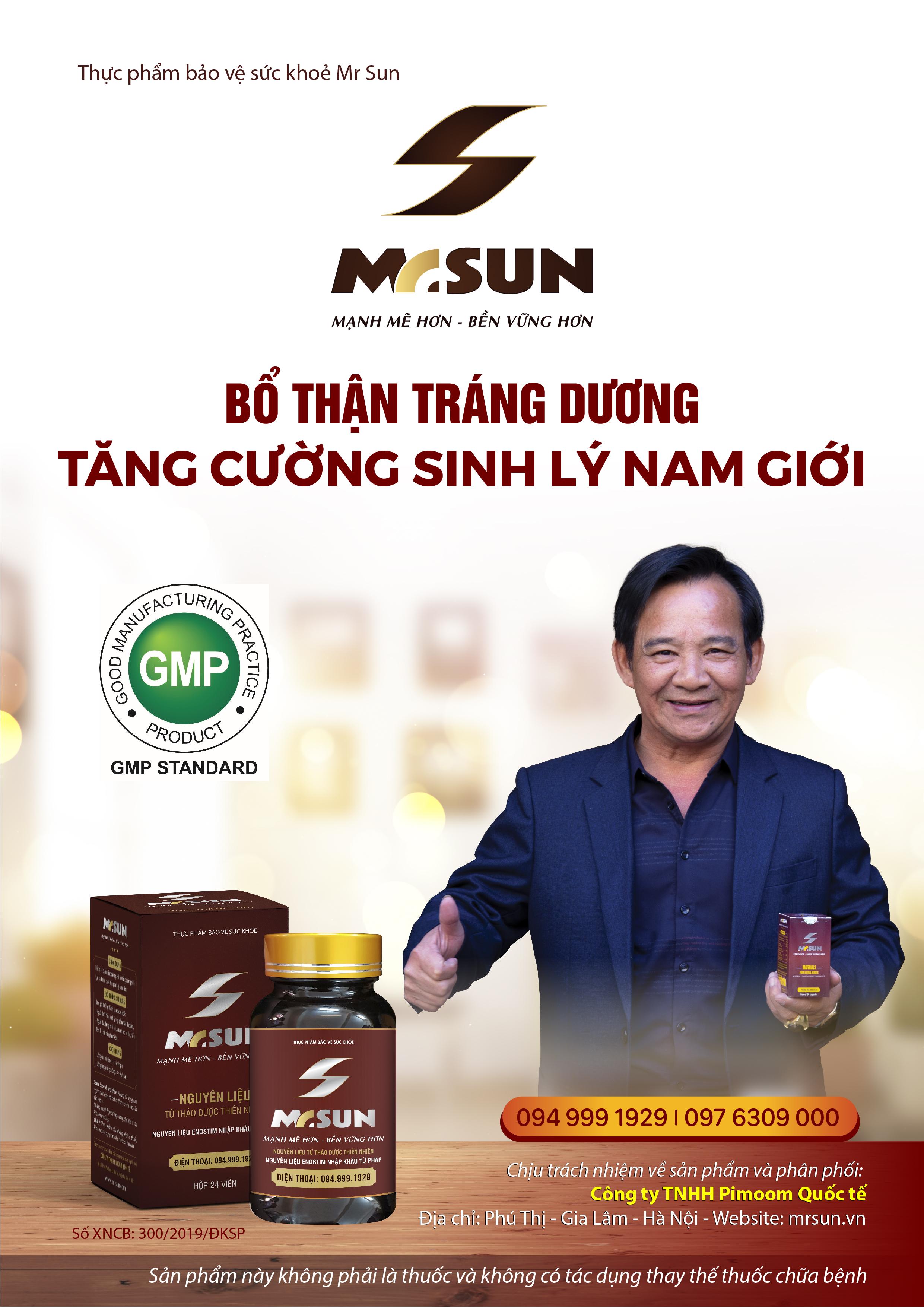 Mr Sun là bí quyết duy trì phong độ đàn ông của Nghệ sĩ Quang Tèo ở tuổi U60