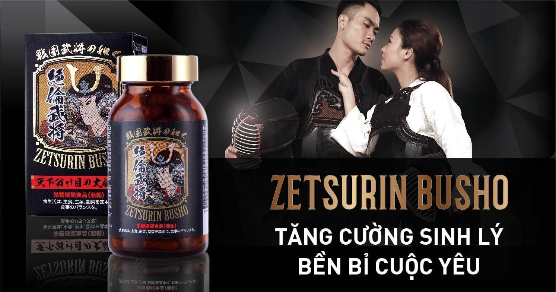 Thuốc Zetsurin Busho chống xuất tinh sớm hiệu quả