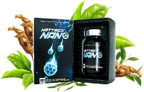 Hattrick Nano là sản phẩm hỗ trợ tăng cường sinh lý nam giới được sản xuất theo công nghệ Nano