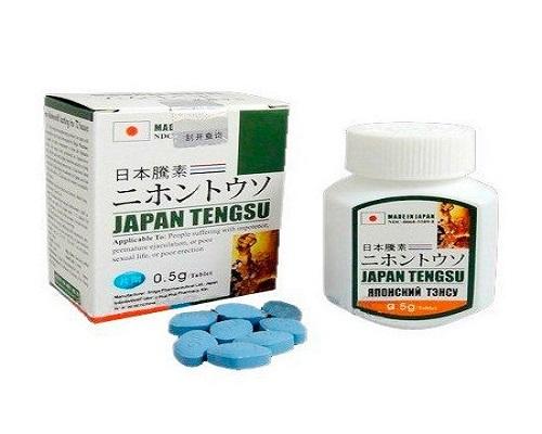 Japan Tengsu là thuốc điều trị rối loạn cương dương tốt nhất từ Nhật Bản