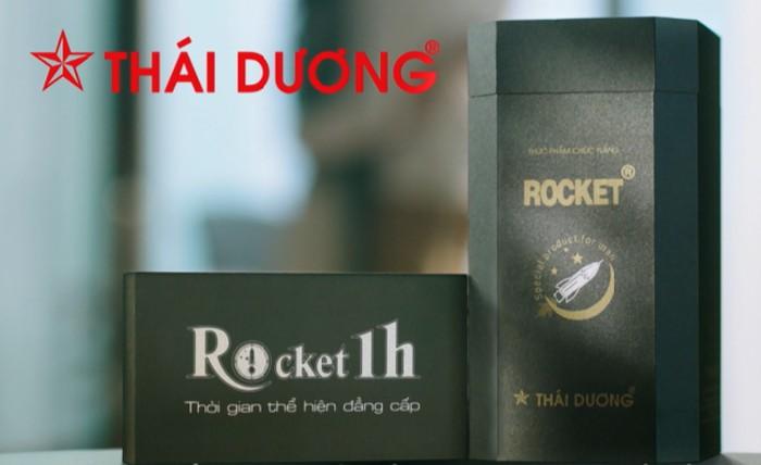 Sản phẩm Rocket 1h được sản xuất bởi Công ty CP Sao Thái Dương – một doanh nghiệp dược phẩm có uy tín cao