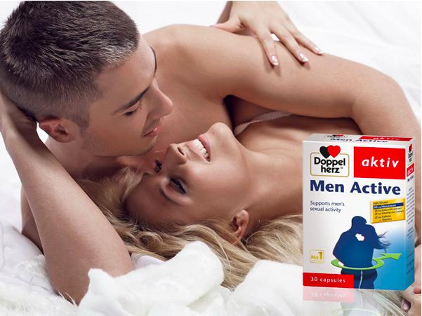 Men Active giúp nam giới kéo dài thời gian quan hệ