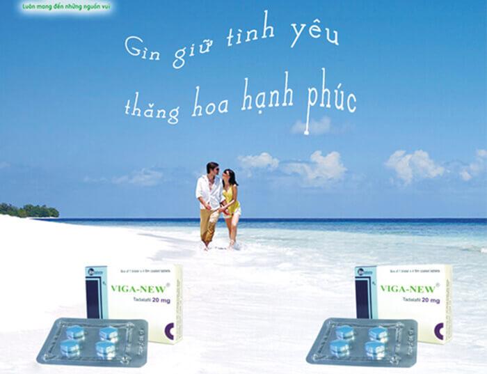 """Viga New giúp các cặp đôi tận hưởng thăng hoa trong cuộc """"yêu"""""""