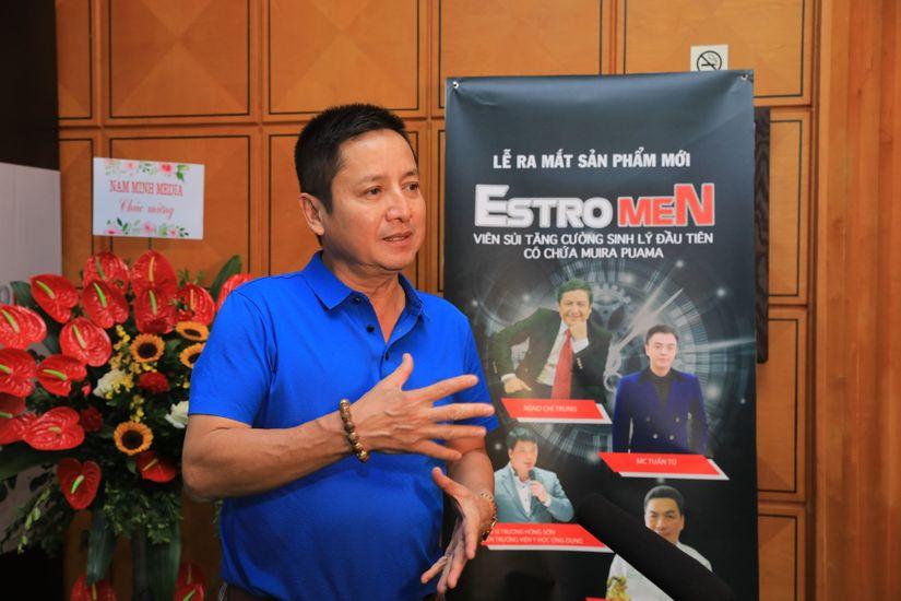 Nghệ sĩ Chí Trung chia sẻ về viên uống Estrogen