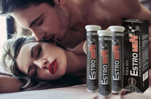 Viên sủi Estromen giúp nam giới tăng ham muốn, kéo dài cuộc yêu