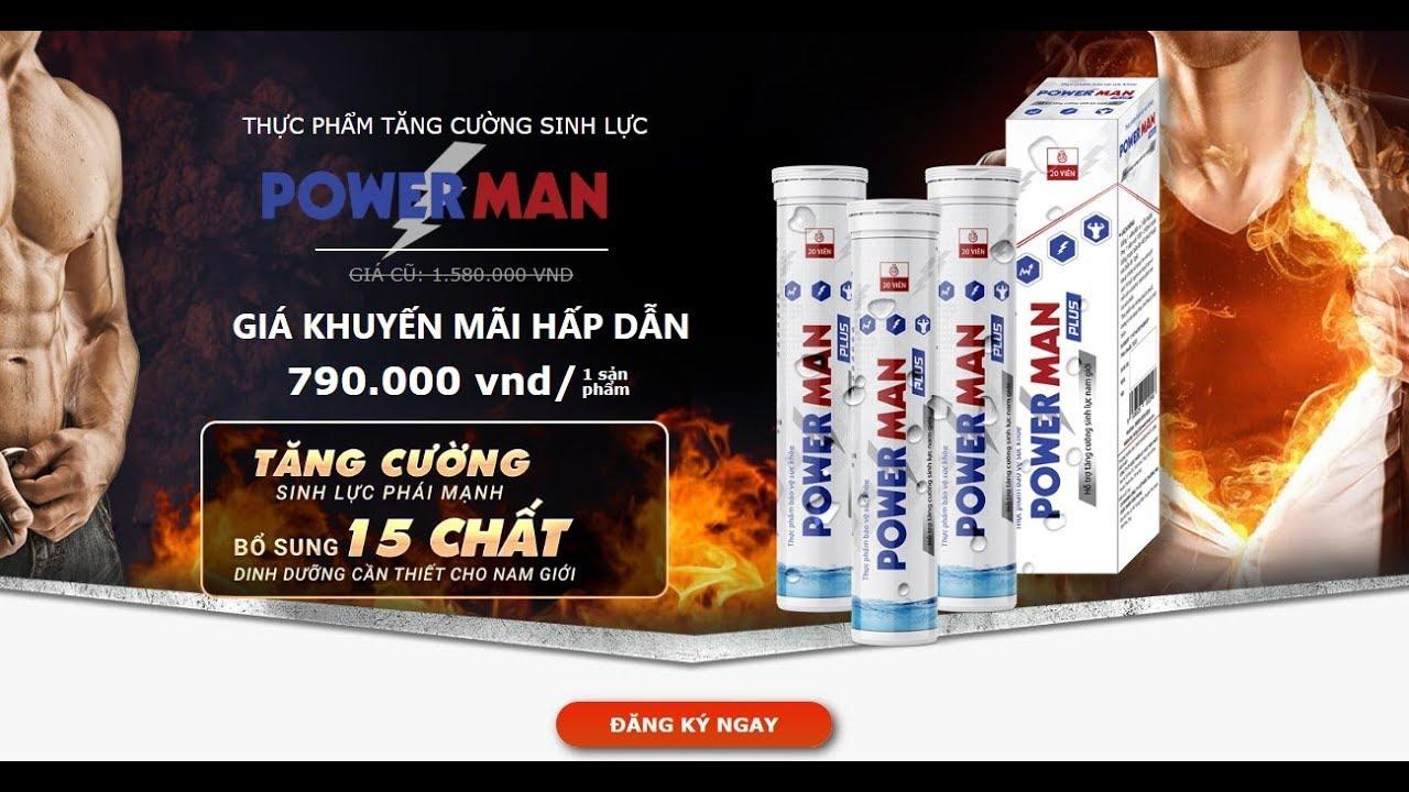 Powerman hiện được bán với giá 790.000 VNĐ/hộp