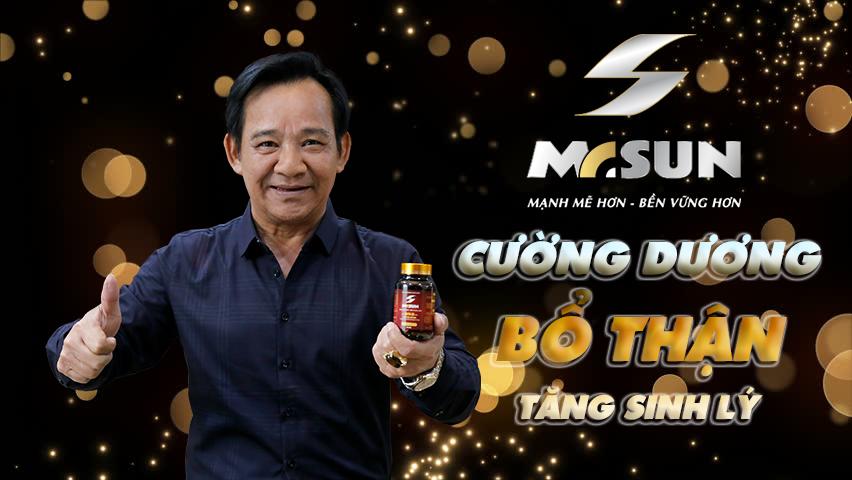 Nghệ sĩ Quang Tèo tin tưởng sử dụng Mr Sun để duy trì phong độ đàn ông ở tuổi U60