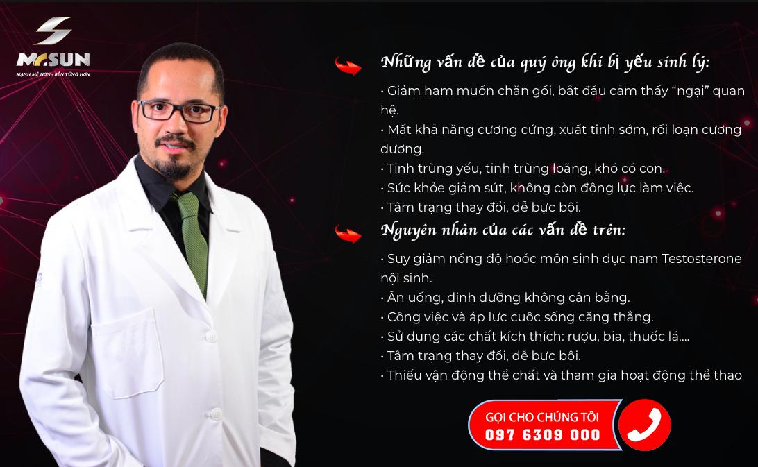TPBVSK Mr Sun được các chuyên gia đầu ngành đánh giá là có tác dụng an toàn và hiệu quả trong việc hỗ trợ cải thiện chức năng sinh lý ở nam giới