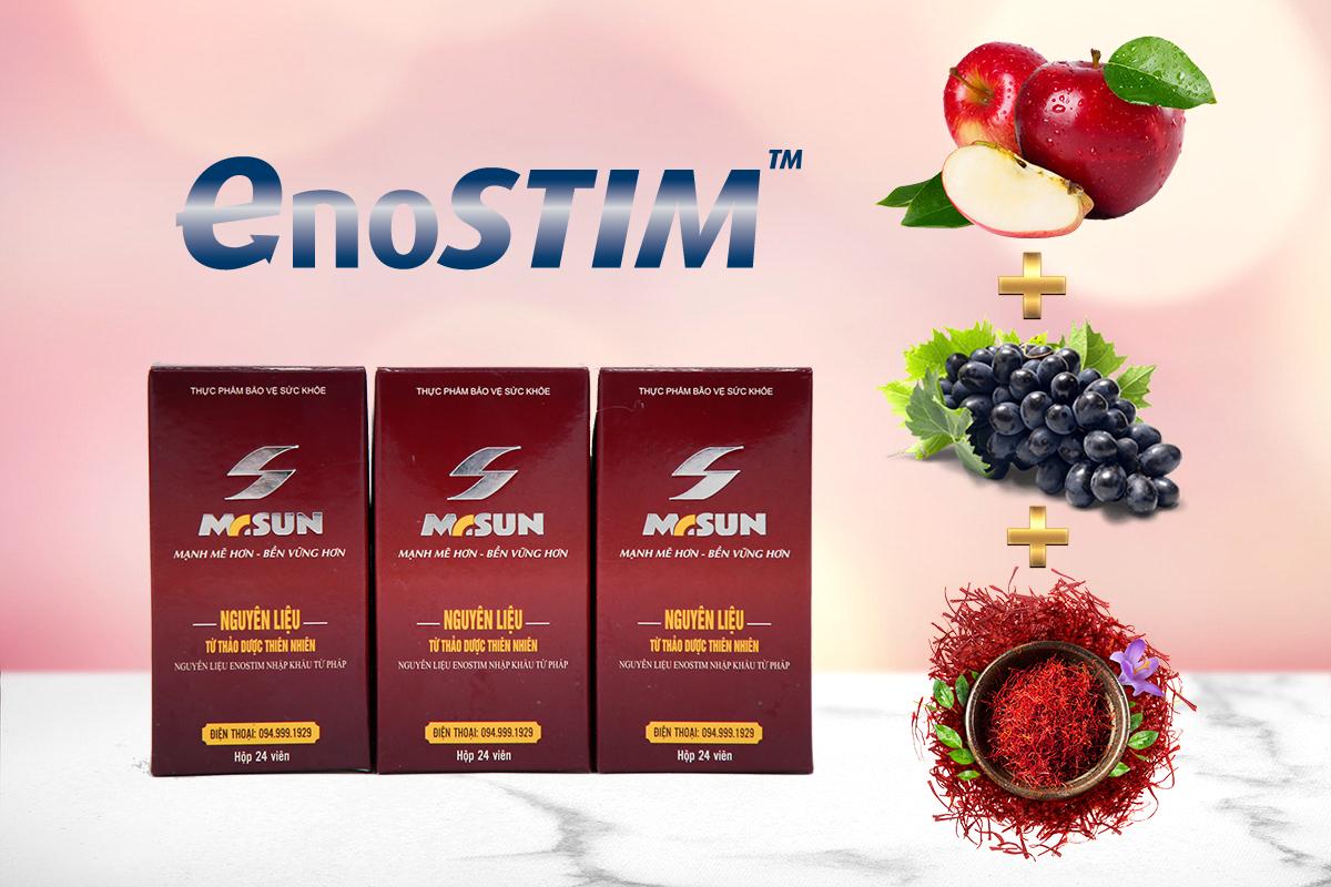 Hoạt chất Enostim là điểm khác biệt lớn nhất của Mr Sun, đem lại hiệu quả vượt trội cho sản phẩm