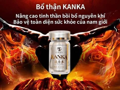 Bổ thận Kanka hỗ trợ điều trị chứng thận yếu, giúp nam giới lấy lại được sự sung mãn của mình