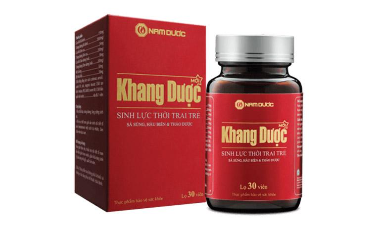 Viên uống Khang Dược được nhiều nam giới sử dụng và đánh giá cao