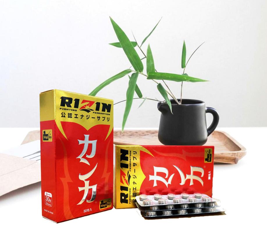 Thuốc RIZIN Nhật Bản đã được nghiên cứu và sản xuất tại AFC – HD ASM Life Science Co.,Ltd Kuniyoshida factory, Nhật Bản