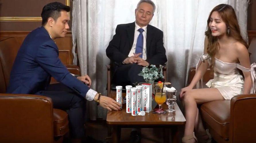 Viên Sủi ROCKMAN được diễn viên Việt Anh tin dùng