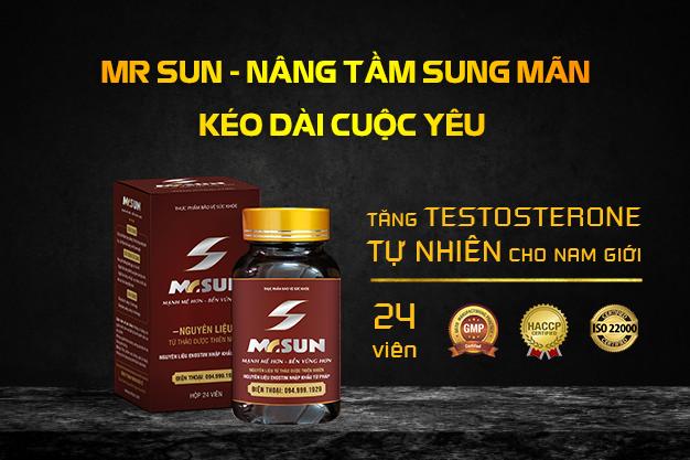 """Mr Sun được xem như """"bảo bối"""" phòng the cho các đấng mày râu"""